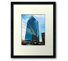 THE PLAZA Framed Print