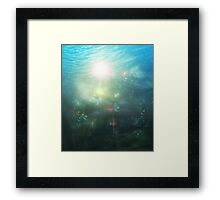 Abstract Underwater 3 Framed Print