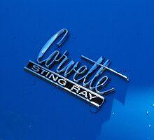 """Corvette Sting Ray"" by John Schneider"