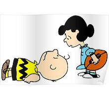 Charlie Brown and Lucy  Poster