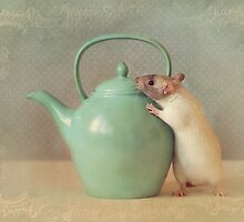 Snoozy with teapot by Ellen van Deelen