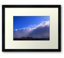 Send In The Clouds Framed Print