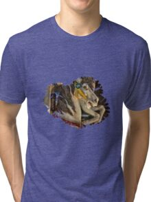 Ride A Painted Pony Tee! Tri-blend T-Shirt