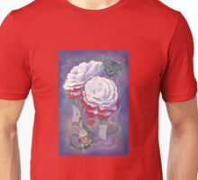 Painted Roses for Wonderland's Heartless Queen Unisex T-Shirt