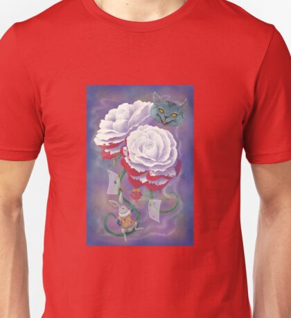 Painted Roses for Wonderland's Heartless Queen T-Shirt