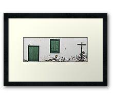 Architectural Minimalism Framed Print