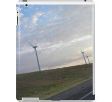 Clean Air, Clean Energy--An Oklahoma Wind Farm iPad Case/Skin