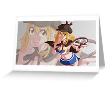Lucy 14 Fairy Tail Greeting Card