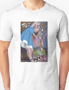 Flying Cards Dissolve Alice's Dream T-Shirt