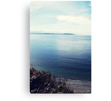 Admiralty Inlet Canvas Print