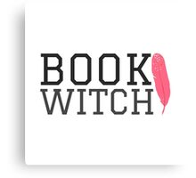Book Witch Canvas Print