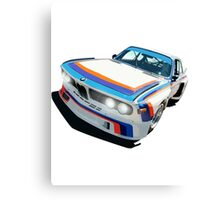 BMW E9 CSL Batmobile - Works Livery Canvas Print