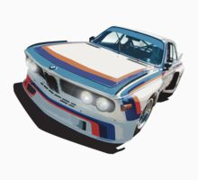 BMW E9 CSL Batmobile - Works Livery by fozzilized