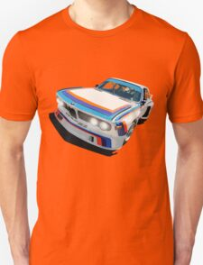 BMW E9 CSL Batmobile - Works Livery Unisex T-Shirt