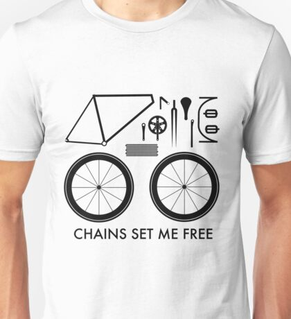 Chains Set Me Free Unisex T-Shirt