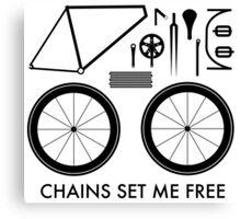 Chains Set Me Free Canvas Print