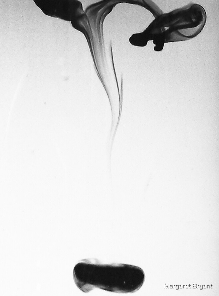 Just One Drop, Ink In Water by Margaret Bryant