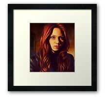 The First Face This Face Saw Framed Print