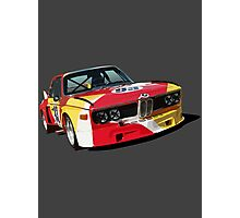 BMW E9 CSL Batmobile - Calder Art Car Livery Photographic Print