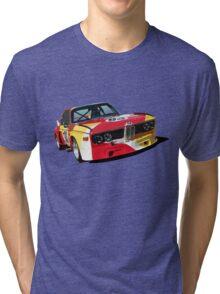 BMW E9 CSL Batmobile - Calder Art Car Livery Tri-blend T-Shirt
