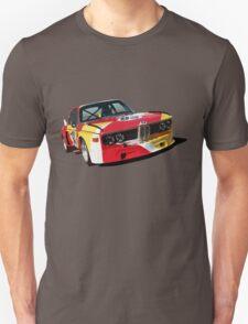 BMW E9 CSL Batmobile - Calder Art Car Livery Unisex T-Shirt