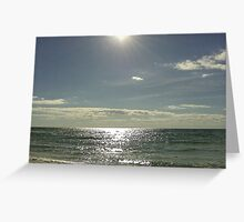 Gulf of Mexico Seascape Greeting Card