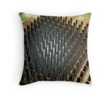 HeatSink with Plastic Overlay Throw Pillow