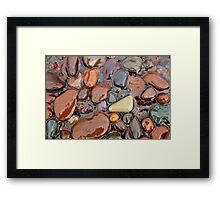 Rocks of Lake Superior 1 Framed Print