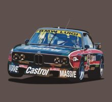 BMW E9 CSL Batmobile - Luigi Castrol Livery by fozzilized