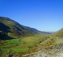 View from Cwm Idwal, Snowdonia National Park, North Wales, UK by Michaela1991