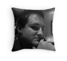 Untitled - Self (V) Throw Pillow
