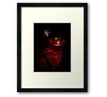 Mystery night Framed Print