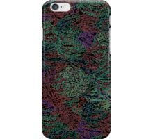 Inverse Lilly Pattern iPhone Case/Skin