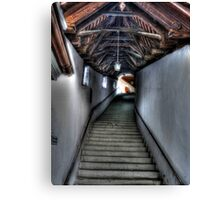 Stairs to Where? Canvas Print