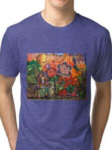 DECOPOLLAGE - Just too Much Fun Tri-blend T-Shirt
