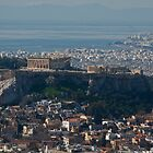 Athens View by Alf Myers