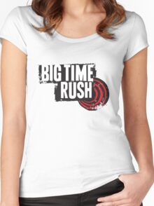 Big Time Rush Women's Fitted Scoop T-Shirt
