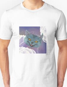 Cheshire Cat, Roses, and Suits - Pillows & Totes T-Shirt