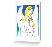 Second Helping Greeting Card