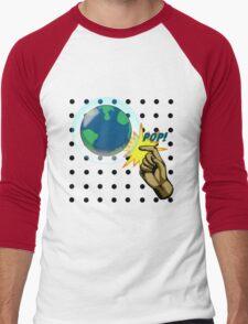 Don't Pop the Ozone Layer Men's Baseball ¾ T-Shirt