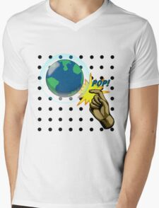 Don't Pop the Ozone Layer Mens V-Neck T-Shirt