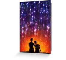 Watch The Sun Rise With Me Greeting Card