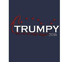 Trumpy 2016 Photographic Print