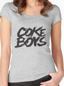Coke Boys Women's Fitted Scoop T-Shirt