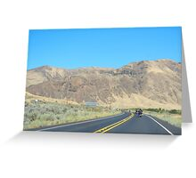 The Open Road, Washington State Greeting Card