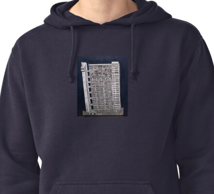 Trellick Tower Pullover Hoodie