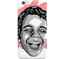 Portrait of Laughing Boy: Siege iPhone Case/Skin