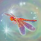 Glowing Dragonfly Variation II by Audra Lemke