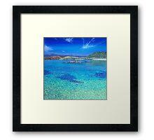 Arisaig shoreline  Framed Print