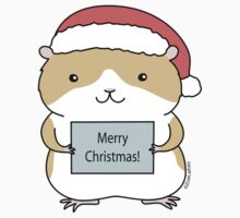 Christmas Hamster by zoel